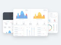 Stats Dashboard by Farhan Razak Web Dashboard, Ui Web, Dashboard Design, Site Portfolio, Instagram Design, Instagram Posts, User Flow, Mobile App Design, Mobile Ui