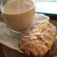 La Madeleine Almond Chocolate Croissant via our guest Gwendolynne C.