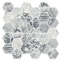 Birmingham Grey Tumbled Hex 2 x 2 in $14.99 Sq Ft      Coverage 8.61 Sq Ft per  Box