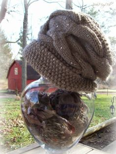 Part of my Fall knitted hat collection - details on my blog~