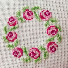 Cross stitch rose More