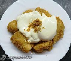 Édes tejbegríz galuska Something Sweet, French Toast, Muffin, Pudding, Eggs, Breakfast, Food, Morning Coffee, Custard Pudding