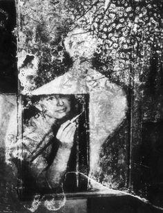 Edward Hartwig (1909 - 2003) - W pracowni artystycznej, 1988
