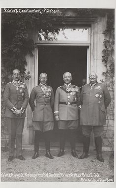 Wilhelm Ii, Kaiser Wilhelm, German Royal Family, Ww1 History, Queen Victoria Family, Reine Victoria, Royal Blood, Second Empire, World War One