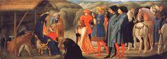 Masaccio, Adorazione dei Magi, 1426, tempera su tavola, Chiesa del Carmine (Pisa), Musei statali, Berlino