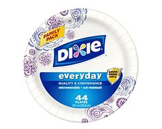 """Dixie Logo  Try Dixie Today  The styles you want. The durability you need. A value you'll love. Try Dixie today.   The Perfect Solution  Strong and reliable Dixie plates, bowls, cups and napkins are the perfect solution for every day meals and snacks.             Dixie Paper Plates   Dixie 6 7/8"""", 8 ½"""" & 10 1/16"""" paper plates:  Kids and moms agree, Dixie disposable plates make meals easier. They're strong durable and available in a variety of sizes.       Dixie Disposable Paper Bow..."""