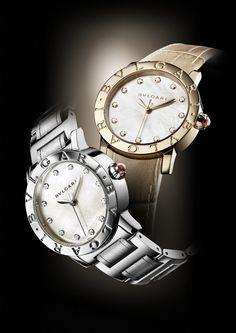 Bvlgari Trendy Watches, High Jewelry, Omega Watch, Chronograph, Brooch, Accessories, Women, Glass, Clocks