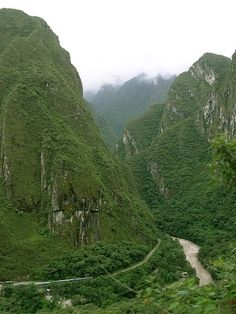 Andes Mountains-- one of my dream hikes!