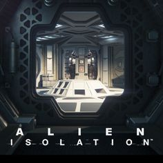 Alien Isolation - Lighting, Ben Hutchings on ArtStation at https://www.artstation.com/artwork/Xb2AR