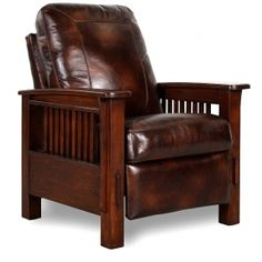 Mission Style Recliners for 2020 Arts And Crafts For Adults, Arts And Crafts House, Easy Arts And Crafts, Mission Chair, Mission Style Furniture, Mission Oak, Arts And Crafts Storage, Arts And Crafts Furniture, Furniture Design