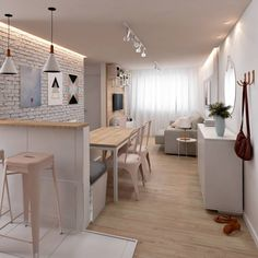 Cool And Contemporary small living room desk ideas only in homesaholic design Condo Interior Design, Small Apartment Interior, Condo Design, Apartment Design, Interior Colors, Interior Livingroom, Interior Plants, Desk In Living Room, Small Living Rooms
