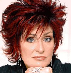 Former X Factor judge Sharon Osbourne wears minimal make-up for ...