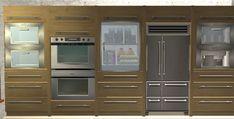 BB Basic kitchen addons - built in oven kit slaved