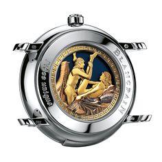 (NDH) Độc đáo, đắt tiền và có thể khiến cả chủ nhân lẫn người đối diện phải đỏ mặt, đồng hồ phong cách erotic là một thú chơi rất kén người.