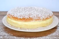 Tropizienne- my favorite French dessert Cookie Desserts, Just Desserts, Dessert Recipes, Cooking Chef, French Pastries, Love Food, Sweet Recipes, Food And Drink, Yummy Food