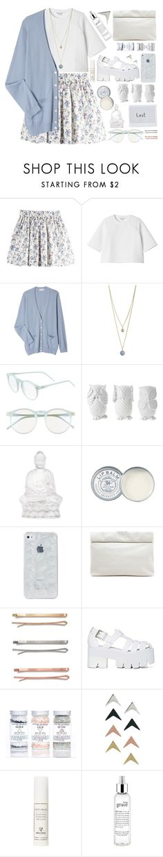 """""""Outfit 74"""" by holass ❤ liked on Polyvore featuring Monki, Margaret Howell, Dorothy Perkins, Wildfox, Design 55, Lalique, Jack Wills, Marie Turnor, Madewell and Jeffrey Campbell"""