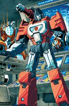 Perceptor colours by markerguru.deviantart.com on @deviantART