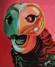 This is a painting from the movie Phantom of the Paradise. I titled it 'Winslow, Once upon a time' Phantom of the Paradise Rock N Roll, Nerdy, Paradise, Joker, Deviantart, Memes, Awesome, Prints, Painting