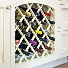 Store It With Built In Cabinets Coast Design Wine Rack Cabinet Insert