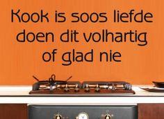 Buy VINYL DECAL - KOOK IS LIEFDE QUOTE AFRIKAANS 1 - WALL ART for R70.00