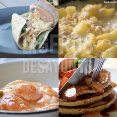 Cheesy Recipes, Mexican Food Recipes, Healthy Breakfast Recipes, Healthy Snacks, Food Videos, Food And Drink, Cooking Recipes, Yummy Food, Fitness