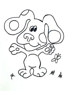 free printable blue clues 09 for kids print out your own coloring pages and coloring