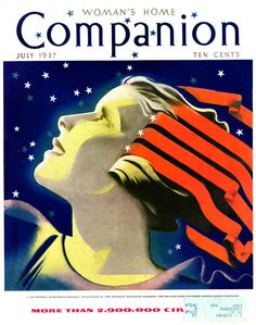 Woman's Home Companion Magazine Cover by William P. Welsh  1937