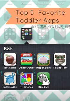 Top 5 Toddler Apps.