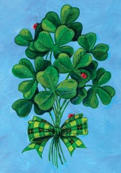 Toland Home Garden 112589 Shamrock Bouquet Decorative Garden Flag, 12.5 by 18-Inch by Toland Home Garden. $6.99. Garden Flag Size: 12.5 inches by 18 inches. Sublimated Flag made from 600 denier polyester fabric. Toland Flags are Heat Sublimated to permanently dye fabric for long lasting color. All Toland Flags are machine washable and UV, mildew, and fade resistant. Decorative flags by Toland feature licensed artwork that is favored by flag flyers. The Shamrock Bouquet Ga...
