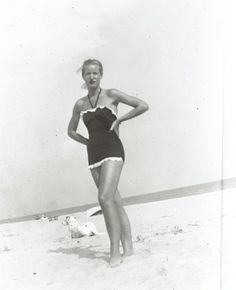 Little Edie on Georgica Beach.