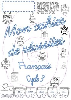 French and math success notebooks for all cycle 3 - The class . - French and math success notebooks for all of cycle 3 – Jenny& class - French Teacher, Teaching French, Cycle 3, Program Evaluation, Writing Folders, Becoming A Teacher, Learning Objectives, French Lessons, France
