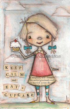 Keep Calm Cupcake
