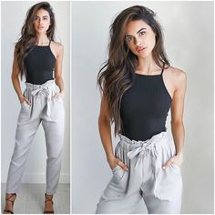 New to TM today! The 'Straight Forward' top + 'Hold Me Down' pant! / #tigermist @tigermistloves