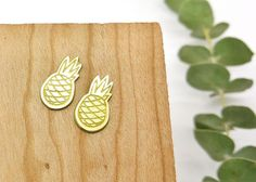 Made with ❤️ Pineapple Brass Earrings   http://www.lanabetty.com/products/pineapple-earrings?utm_campaign=crowdfire&utm_content=crowdfire&utm_medium=social&utm_source=pinterest