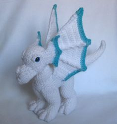 Winter Storm Dragon Plush