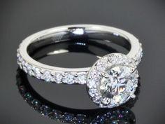Platinum diamond engagement rings | Wedding Blog Ideas and Tips