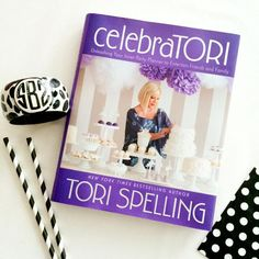 Our Bangle Bracelet in Lotty Dotty pattern is featured with the fabulous Tori Spelling! Order now on our website: Frill Seekers Gifts. Click for link.