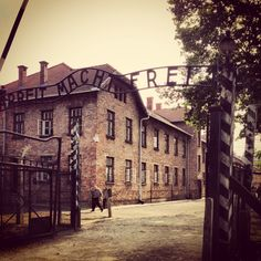 Aushwitz concentration camp in Poland