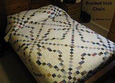 FREE PATTERN: Braided Irish Chain Quilt (from Moda Bake Shop)