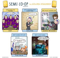 Presenting: The Golden Standees 2015 (pt 1) • Semi Co-op