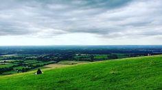 Undulating hills...
