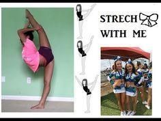 Great stretches for flyers, cheerleaders, and to get flexible    yblast45 - YouTube