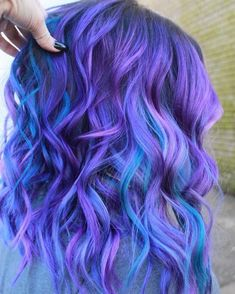 19 Best Red and Blonde Hair Color Ideas of 2019 - Style My Hairs Pretty Hair Color, Beautiful Hair Color, Hair Color Purple, Hair Dye Colors, Teal Hair, Bright Hair, Purple Teal, Pulp Riot Hair Color, Pinterest Hair