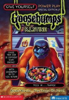 book cover of     Trick Or...Trapped!      (Give Yourself Goosebumps Special, book 7)    by    R L Stine