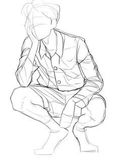 Bodies — Art Art Poses, Drawing Poses, Manga Drawing, Shirt Drawing, Body Drawing, Drawing Practice, Anatomy Drawing, Drawing Tips, Drawing Sketches