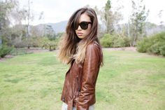A leather jacket will COMPLETE YOU.