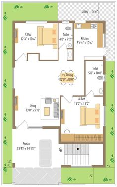 WEST FACING SMALL HOUSE PLAN - Google Search
