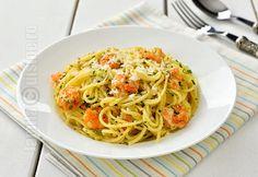 Paste cu creveti - reteta video Romanian Food, Romanian Recipes, Good Food, Yummy Food, Shrimp Pasta Recipes, Superfoods, Lasagna, Spaghetti, Meals