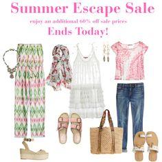 Summer Escape Sale by calypsostbarth on Polyvore