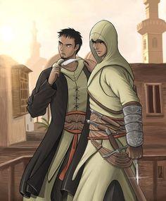 [AC1] Malik and Altaïr